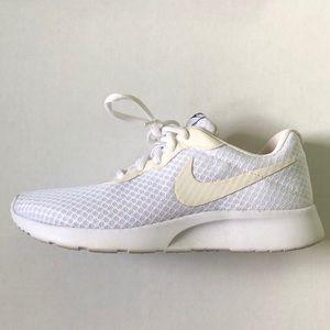 White Nike's